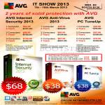 AVG Software Internet Security 2013, Anti-Virus 2013, PC TuneUp