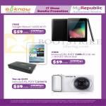 MyRepublic Fibre Broadband 100Mbps Free Google Nexus7, Galaxy Tab 2 7.0, Galaxy Camera