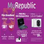 MyRepublic Fibre Broadband 100Mbps, 150Mbps, Free Dell Alienware M14x Notebook, Samsung Galaxy Camera, Pure