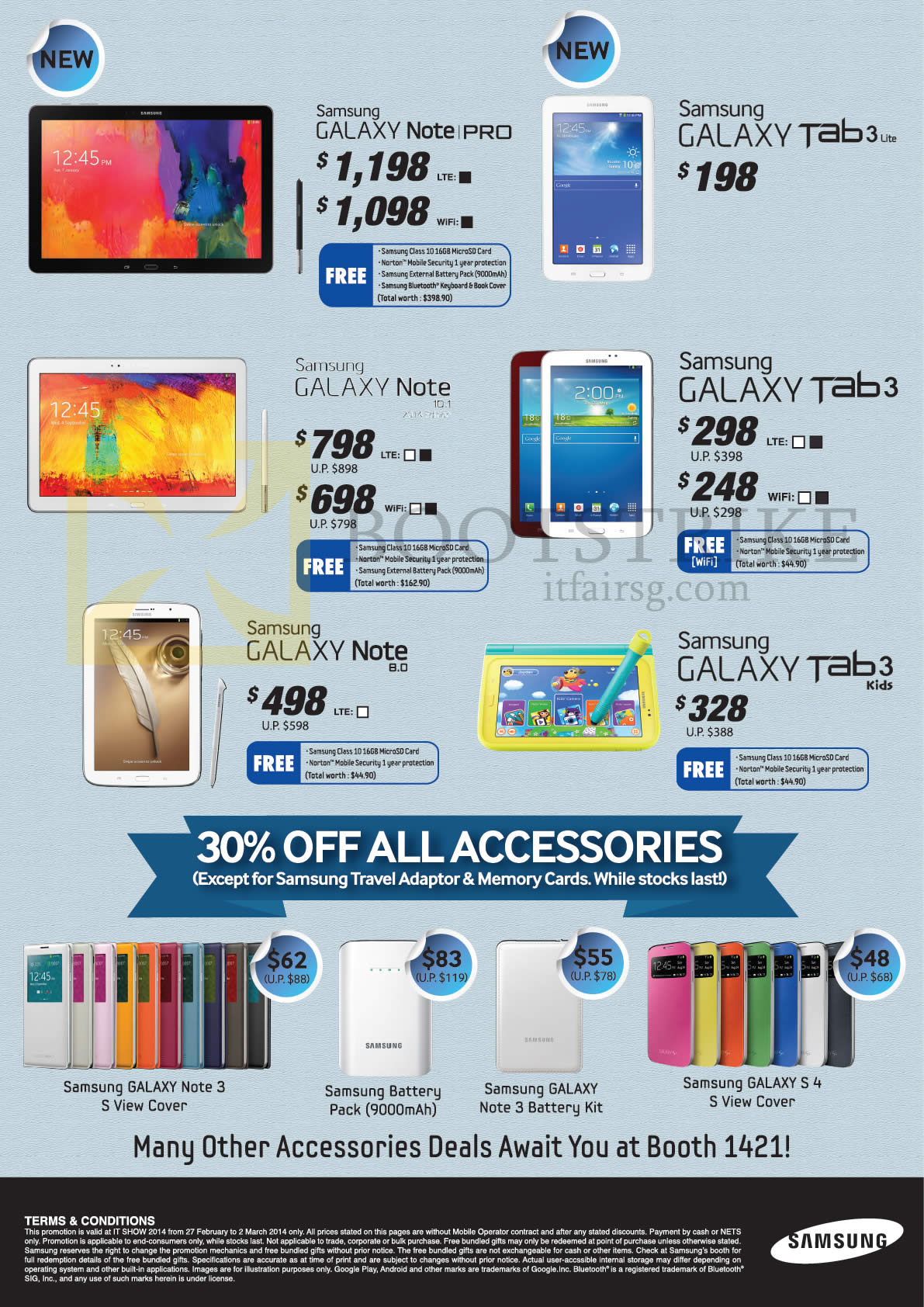 Samsung Mobile Galaxy Note Pro, Tab 3 Lite, Note 10 1 2014 Edition