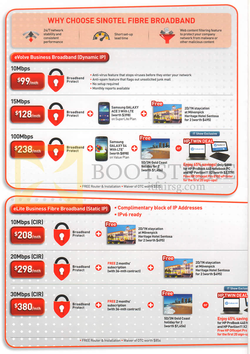 Singtel promo code and Promotions