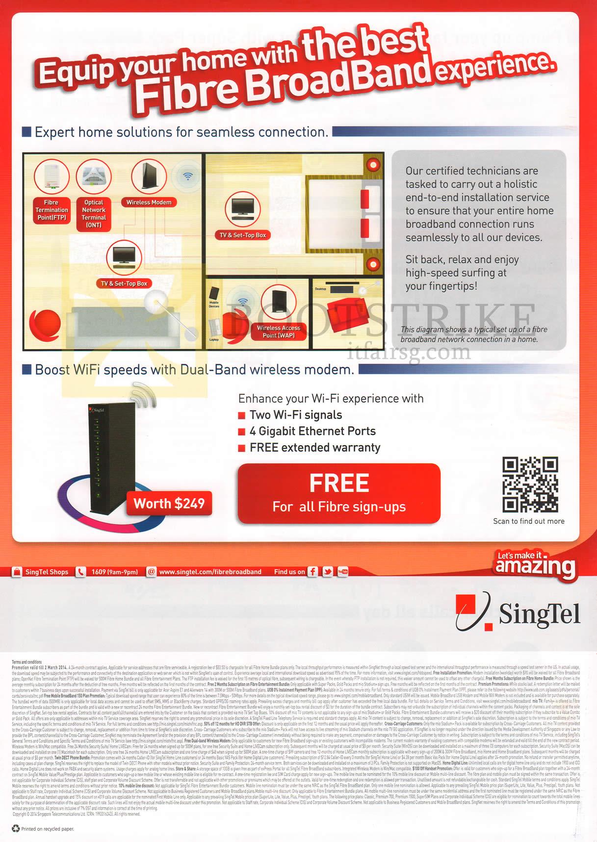 Singtel Fibre Broadband Home Bundles Expert Home Solutions