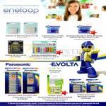 Eneloop Sanyo AAA AA Batteries, XX, Evolta