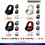 Panasonic Headphones RP-HX250E, RP-HX250ME, RP-HX350E, RP-HX350ME, RP-HJE125