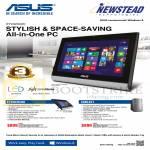 AIO Desktop PCs Newstead ET2020IUKI, CM6431