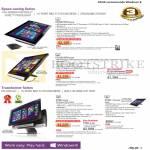 AIO Desktop PCs ET2301INTH-B010K, ET2221INTH-B006K B009Q, P1801-B075K T-B015M B184K