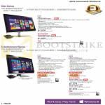 AIO Desktop PCs ET2321INTH-B026Q, ET2702IGTH-B036Q, ET2311INTH-B017K, ET2311INTH-B005Q, ET2311INTH-B006Q