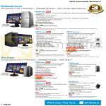 Desktop PCs M70AD-SG002S, M51AD-SG002S, M51AC-SG002S-UPS, P30AD-SG003S SG005S SG004S, EB1505-B02M