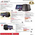 Desktop PCs ROG G70AB-SG001s, G50AB-SG002S, G30AB-SG005S, G50AB-SG001S-EXT, G10AC-SG011S UPS