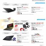 Notebooks N550JV-CM041H, N750JV-T4014H, G56JR-CN147H, G750JX-T4064H, G750JH-CV020H