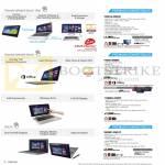 Notebooks Transformer Book TX201LA-CQ012H, T100TA-DK005H, TX300CA-C4033P, TAICHI-CW011P