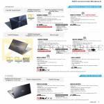 Notebooks Zenbook UX302LG-C4006H, UX301LA-C4018P, UX32VD-R4030H, UX51vZ-CM042P, UX31A-C4037P, UX31A-R4047P, K451LB-WX109H, K451LB-WX107H