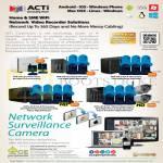 ACTi NVR Surveillance Network IPCam Cameras
