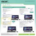 AIO Dekstop PCs Aspire ZC-105, 610, Z3-600, 610, U5-610