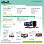 Desktop PCs, Monitors Aspire XC-605, Predator G3-605, H226HQL, G276HL, T232HL, H236HL, T272HL