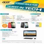 Tablets, Smartphone, AIO Desktop PC, Liquid S2, S1, Z3, WebPlay DA222HQL