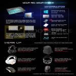 Notebooks Customisable Options, Accessories Turtle Beach Ear Force Headphones, Steel Series Siberia, Sensei, Dicota