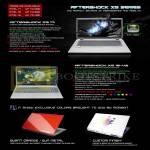 Notebooks XG17, XG15-V2, Modbot
