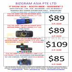 Bizgram Car Video Recorders AT5 GS8K DC10