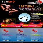 Safear In Ear Monitor Mini, Duet, Trio, Quad