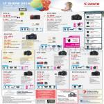 DSLR Digital Cameras EOS M, 700D, 70D, 1100D, 100D, 600D, 60D, 6D, 5D Mark III