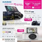 Digital Cameras EX-10, Exilim ZR1200