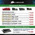 Vengeance RAM Pro Memory DDR3, Dominator Platium