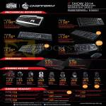 CMStorm Mechanical Keyboards, Mousepads, Gaming Mouse, Headsets, Quickfire, Aluminum, Devastator, Xornet, Recon, Sirus