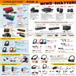 Speakers Wireless, Mobile Headsets, Headphones, Axx, Sound Blaster, Draco Aurvana Hitz Signature Airwave Woof
