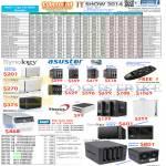 NAS Synology DiskStation, Asustor, Thecus, Buffalo, D-Link, Internal HDD HardDisk Drive