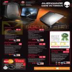 Desktop PCs Alienware M17X, Alienware 14, Alienware 17, Alienware 18