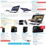 Desktop PCs, AIO Desktop PCs, Inspiron 23, Inspiron 3000, XPS 27, XPS 8700, Alienware X51, Alienware Aurora R4
