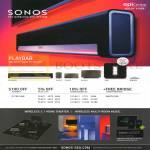 Sonos Playbar, Sub, Bridge
