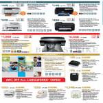Printers Inkjet Labellers Expression Home XP-202, 402, Workforce WF-3521, 7511, Stylus Photo R3000, Pro 3685, Labelworks LW-300, 400, 700, 900P, Pro100