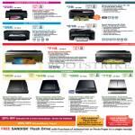 Printers Inkjet Scanners Stylus Photo T60, R2000, Workforce WF-7011, 2548, Expression Home XP-102, Perfection V33, V370, V600, V700