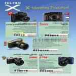 Digital Cameras (No Prices) X-T1, X-PRO1, E-E1, X-E2, X-M1, X-A1