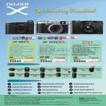 Digital Cameras (No Prices) X20, X100s, XQ1