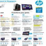 Desktop PCs, Monitors, Envy 700-292d, Recline K002d, Phoenix 810-192d, Pavilion 23tm, W2072A, W2371d, X2401, 25xi, 27xi, Envy 27
