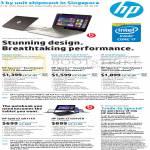 Notebooks Spectre TouchSmart 3001TU, 3002TU, 3003TU, Split X2 M011TU, M010TU