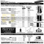 Samsung Price List Smart Doorlocks Mortise, Deadbolt, Rim Types, Video Intercom System