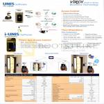Virdi Biometric Technology Unis Software, I-Unis Software, AC-F100 Features