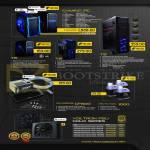 Armaggeddon Desktop PCs Gaming, T6 T8 T9, Gigafreeze, Arctic Fuel, Voltron PSU Gold Series