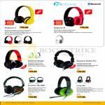 Sonic Gear Headphones Airphone V III, Earpump Studio Pro, Krypton HS, Loop