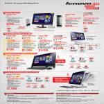 Desktop PCs, AIO Desktop PCs, Q190, H530s, C360, C460, C560, C560 Touch, B550 Touch, A530 Touch