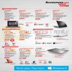 Notebooks G500s, G410, S510p, S410p, S410, Z510, U330p, U430 Touch