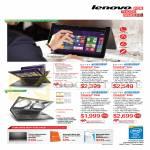 Notebooks ThinkPad Yoga 20CDA022SG, 20CD0038SG, ThinkPad X240 20AM0045SG, 20AM005MSG