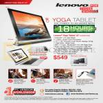 Yoga Tablet 10 Features