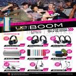 Headphones, Speakers, Earphones, Ultimate Ears 9000, 6000, 4000, 900, 600M, 400vi, UE Boom, Mobile Boombox, Boombox