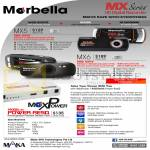 Maka GPS Navigators Marbella HD Digital Recorders MX5, MX6, MaxPower