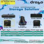 Memory World Drobo NAS Mini, 5D, 5N, Transporter, B800fs